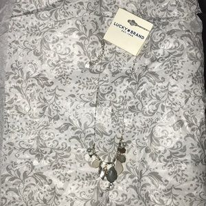 BNWT 🌺🌵Lucky 🍀 brand gypsy charm necklace ✌🏻
